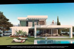Modern villa's off plan